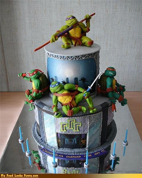animated birthday birthday cake cake cartoons comics ninja ninja turtles Sweet Treats teenage mutant ninja turtles TMNT turtles tv shows