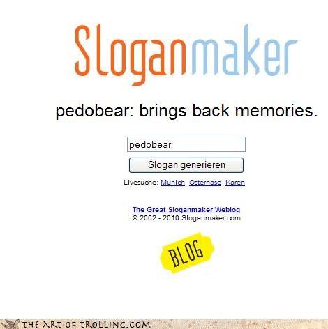 good or bad memories pedobear rough childhood sloganmaker - 3998416128