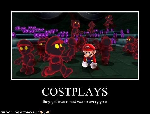 COSTPLAYS they get worse and worse every year