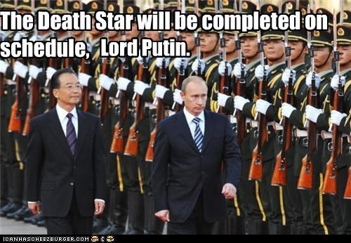 Death Star funny lolz pop culture star wars Vladimir Putin vladurday - 3999358720