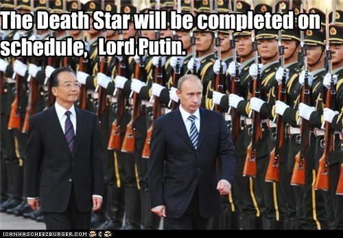 Death Star funny lolz pop culture star wars Vladimir Putin vladurday - 3999358720