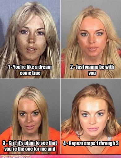 jail lindsay lohan mugshot poll trainwreck celebrities - 3999413760