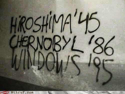 chernobyl disaster hiroshima windows - 3999580928