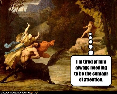 art centaur funny mythology nature painting - 4000500736