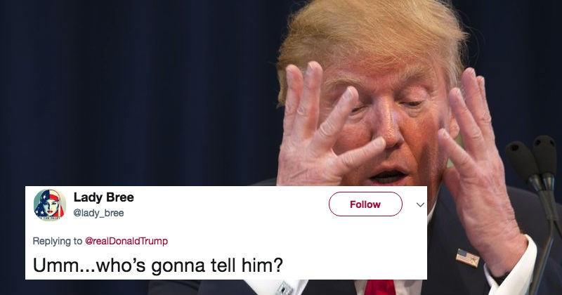 People on Twitter freak out at Donald Trump after he tweets out about the wrong mass shooting.