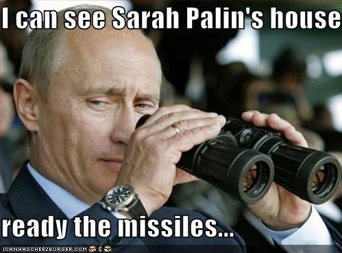 political pictures Sarah Palin Vladimir Putin - 4002611456