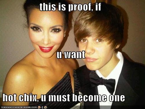 singers famous for no reason hot justin bieber kim kardashian lolz sexy - 4003009792