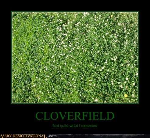CLOVERFIELD Not quite what I expected