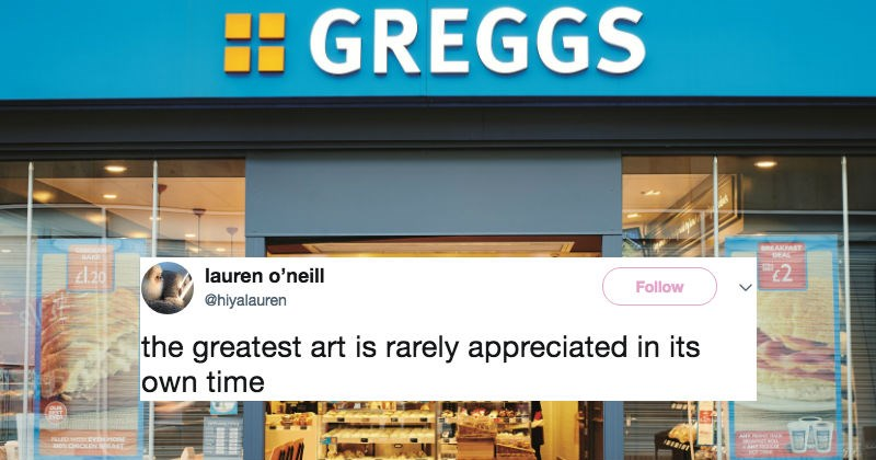 Bakery triggers people on Twitter after they replace baby Jesus with a sausage roll in the Advent calendar.