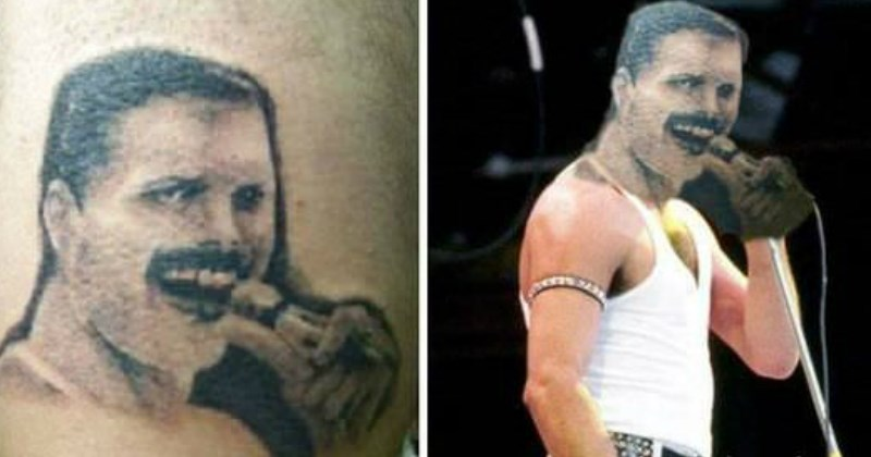 Ridiculous Tattoo FAILs That Will Make You Cringe from awkwardness