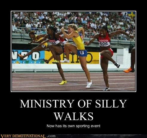 athletes Hall of Fame hilarious legs silly walks sporting events