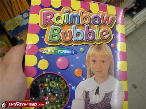 bubble girl rainbow toy - 4004808704