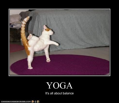 YOGA It's all about balance
