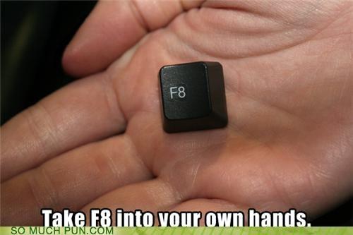 alt choice ctrl delete f8 fate force quit keyboard keys - 4006319104