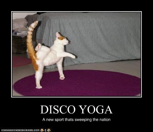 DISCO YOGA A new sport thats sweeping the nation