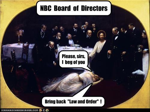 art funny law and order NBC painting pop culture religion - 4007090432