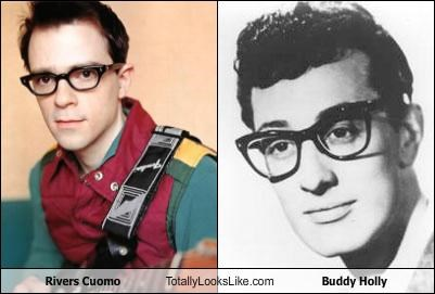 buddy holly glasses musician rivers cuomo weezer - 4008665344