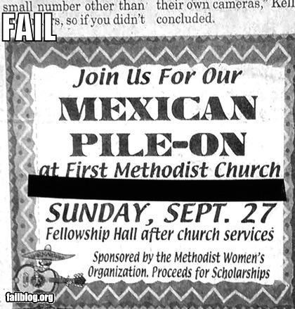 Ad failboat mexicans newspaper stereotypes