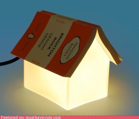 bedside book cute cute-kawaii-stuff furniture house lamp reading - 4009141760