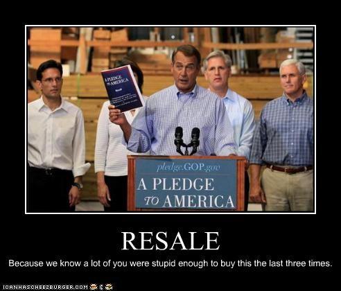 demotivational funny john boehner lolz pledge to america republican - 4010345216