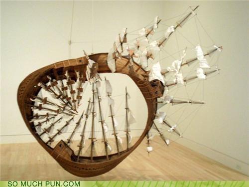 algebra circular circumnavigation forever infinity möbius strip sailing ship sinking - 4011447552