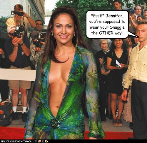 singers fashion jennifer lopez lolz snuggie - 4012626944