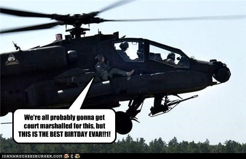 birthday fun helicopter military Party soldiers - 4013655552