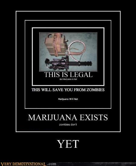 debate discussion drugs guns Hall of Fame hilarious laws marijuana Minigun recursion Terrifying zombie - 4013958912