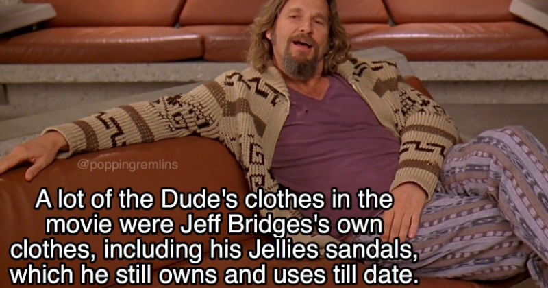 Collection of fun facts about The Big Lebowski movie.