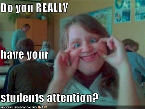 attention back classroom derp intentional funny face school students