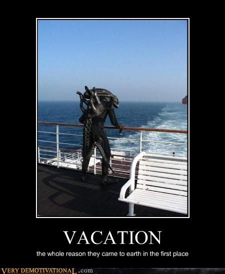 Aliens,impossible,ships,vacation,welcome to earf,xenomorph