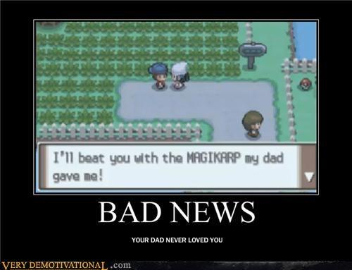 dad Hall of Fame love magikarp parents Pokémon Sad Videogames - 4015653888