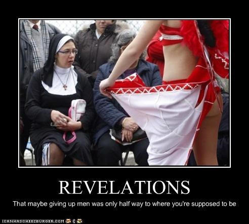 demotivational,funny,lolz,nun,religion,wtf