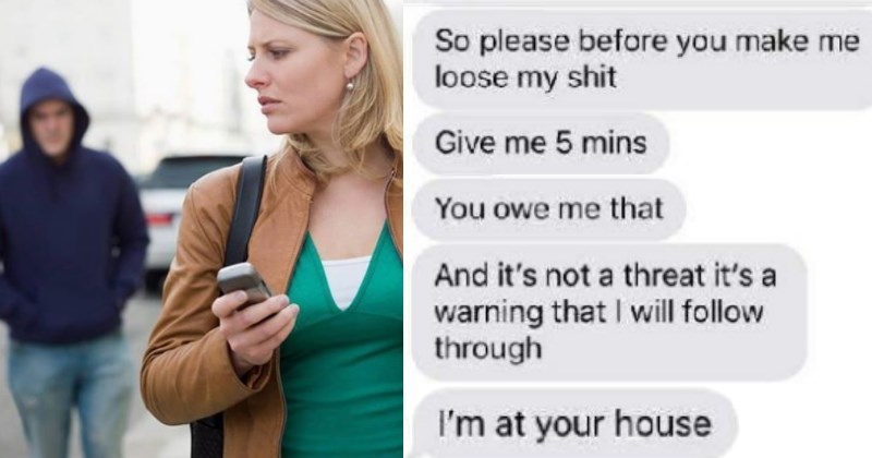 Creepy Stalker Won't Leave Girl Alone, Sleeps Outside Her House and Changes His Number After She Blocks Him