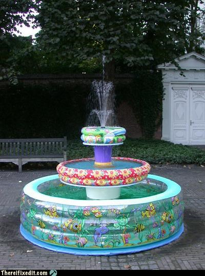 art for kids fountain Hall of Fame not a kludge pool - 4018325248