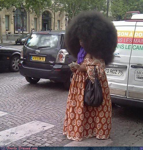 afro bad hair crazy hair - 4019800576