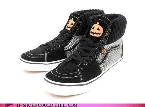 halloween,jack o lanterns,pumpkins,sneakers,tweed,vans