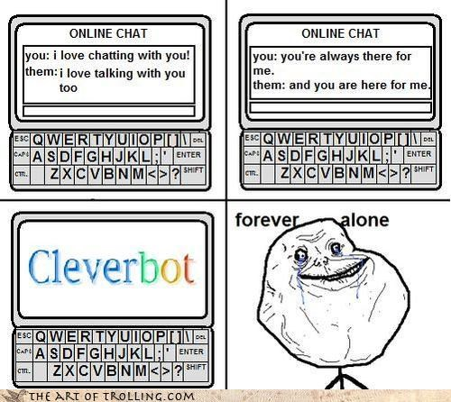 alone comic forever its a trap Memes NOT A REAL TROLL GET OFF MY WEBSITE - 4021762048
