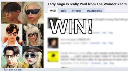 lady gaga oh snap totally looks like win