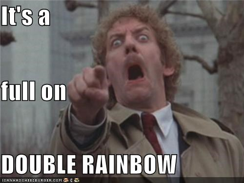 derp,double rainbow,full on,he looks british,what does it mean