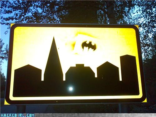 batman,gotham,sign
