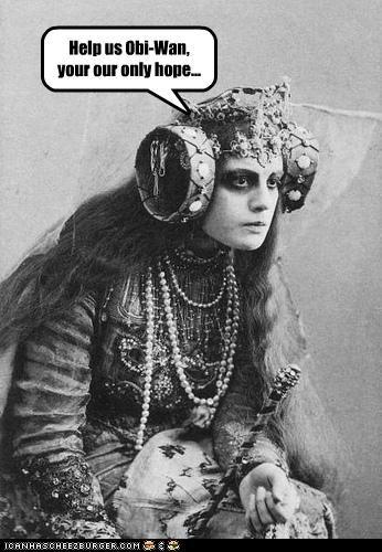 fashion funny lady Photo photograph pop culture star wars wtf - 4022849024