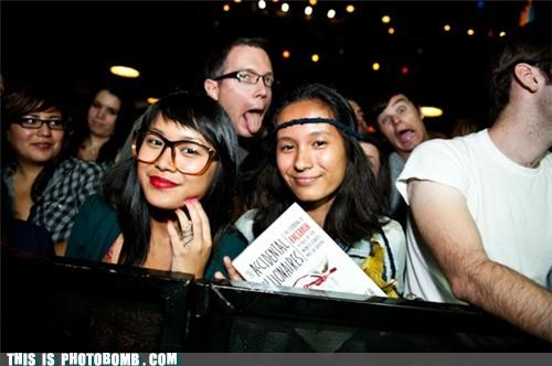 books concerts Good Times hipsters meta photobombs