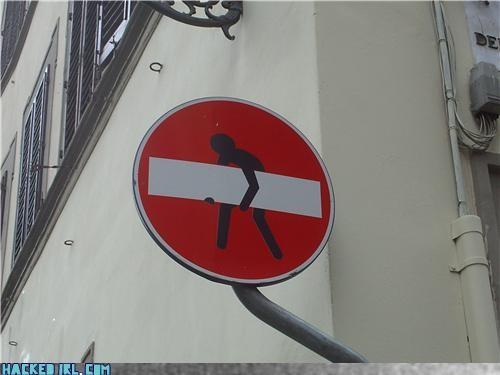 lift no entry road sign - 4024570880
