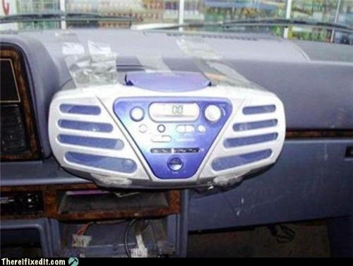 car,dashboard,stereo,tape