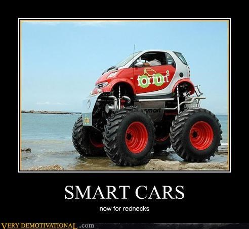 america beach for the environment monster truck Pure Awesome rednecks smart car want - 4026248192