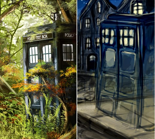 art doctor who Fan Art tardis - 402693