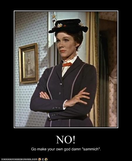actress femism Julie Andrews lolz mary poppins movies - 4026985728