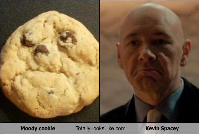 actor,cookies,food,frown,kevin spacey