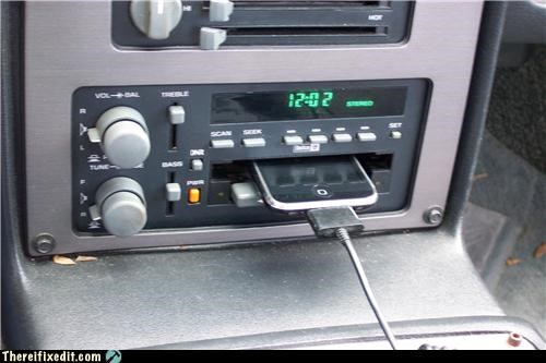 car stereo dashboard dock ipod